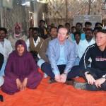 The honorable ambassador of Spain visit Ewazbalia Livelihood activities of marginalized farmers.