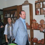 The honorable ambassador of Spain visit development activities of NRDS